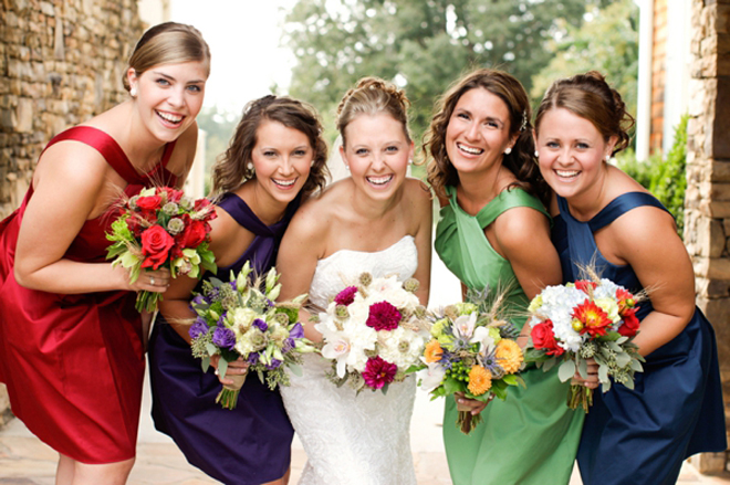 The secrets of successful mismatched bridesmaids 3 0 belle the