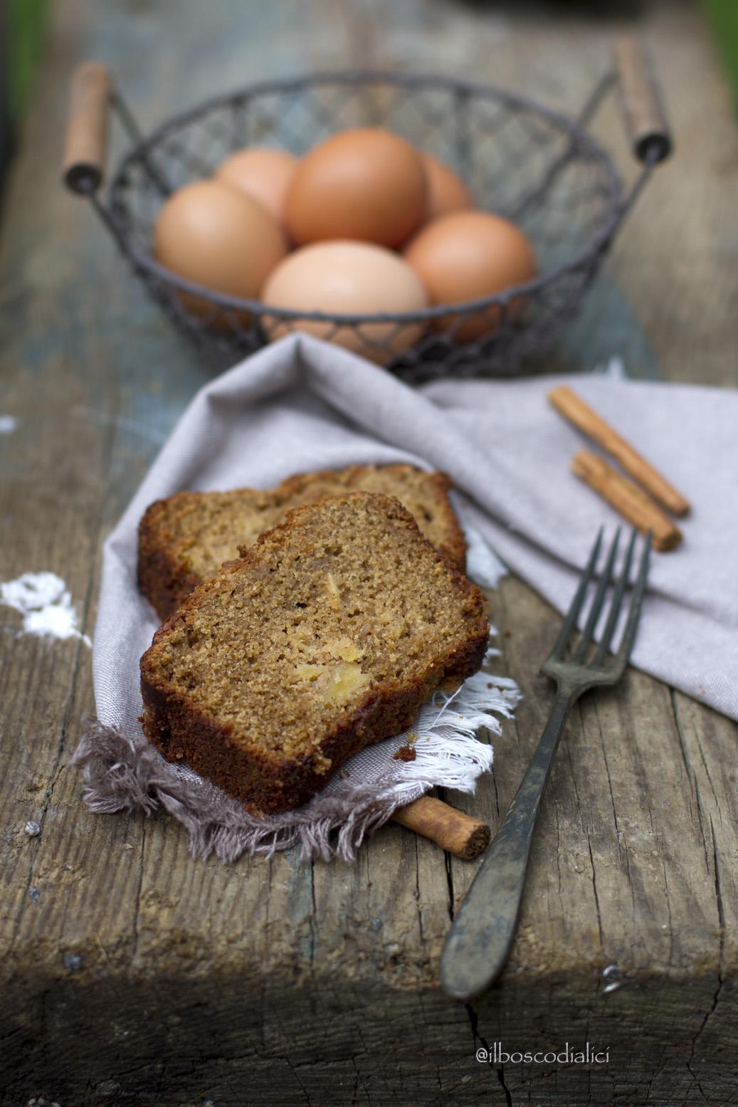 plumcake alla cannella gluten free
