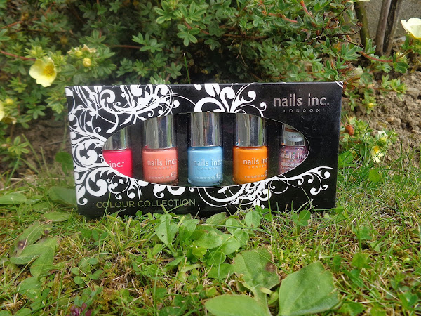 Nails Inc Summer Colour Swatches