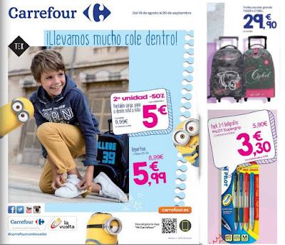 Catalogo Carrefour Vuelta al Cole 2015