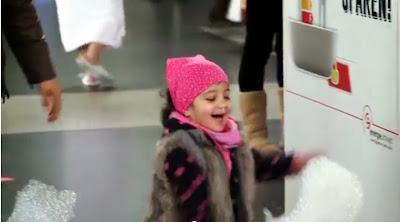 Video Warmwasseraktion im Hauptbahnhof Zürich