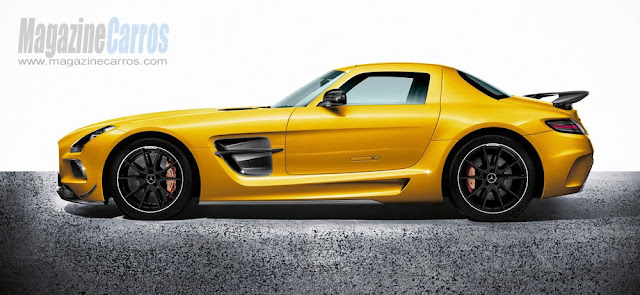 Foto do novo Mercedes-Benz SLS AMG Black Series 2014