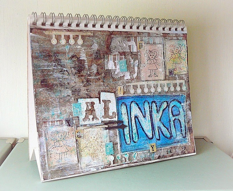 kalendarz czyli art journal