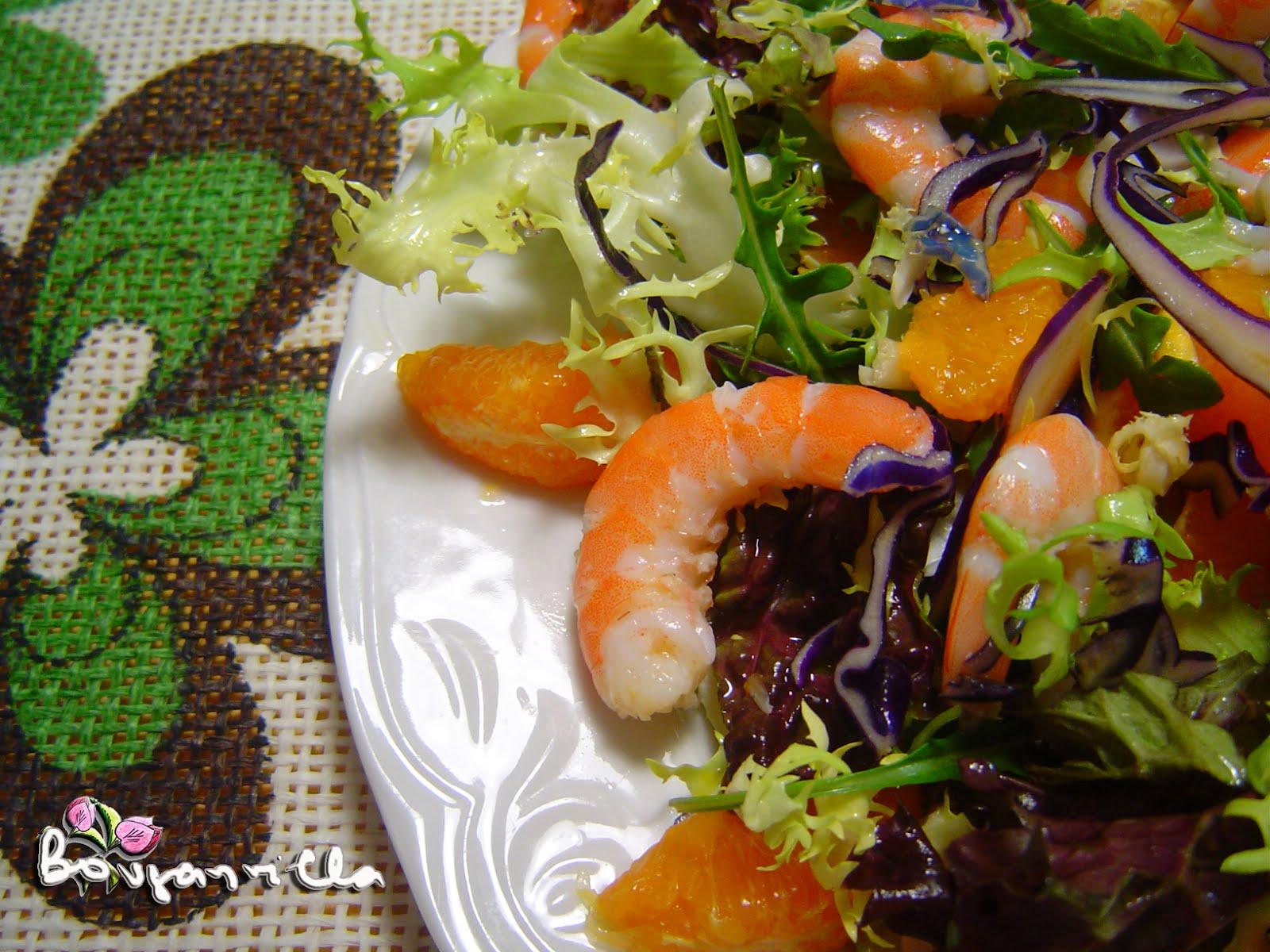 Los caprichos de la bouganvilla capricho 298 ensalada - Ensalada de langostinos ...