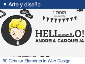 60 Great Examples of Circular Elements in Web Design