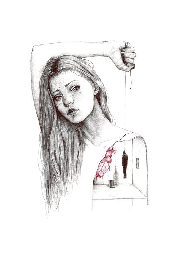 Рисунок убийство
