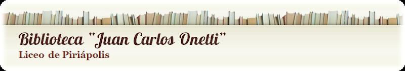 Biblioteca 'Juan Carlos Onetti' - Liceo de Piriápolis