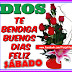 FELIZ SÁBADO - Dios te bendiga y que tenga un buen día