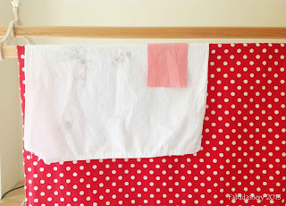 Washing Quilts - Colour Catcher Test Run