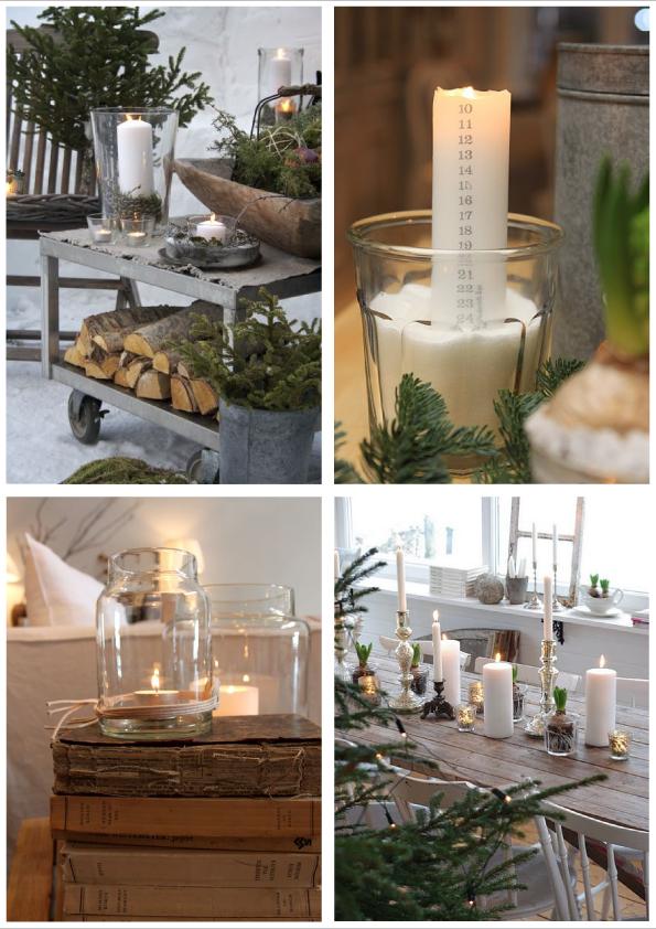Christmas candles blog di arredamento e interni for Dettagli home decor