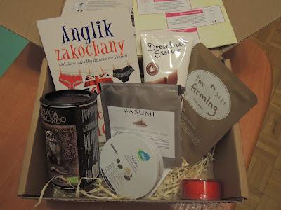 Listopad pachnie czekoladą, czyli listopadowy Chillbox oraz przypomnienie o rozdaniu