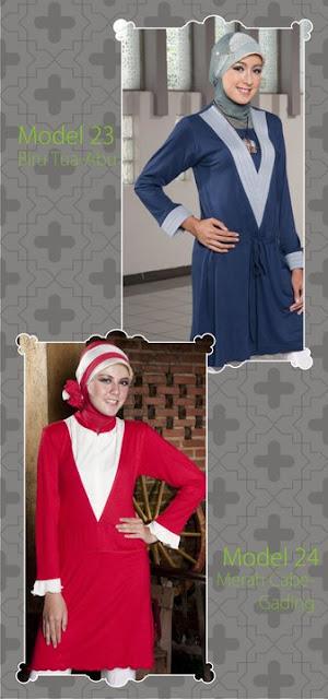 Mazaya Collection Abu muda biru Ungu tua fanta Merah cabe gading