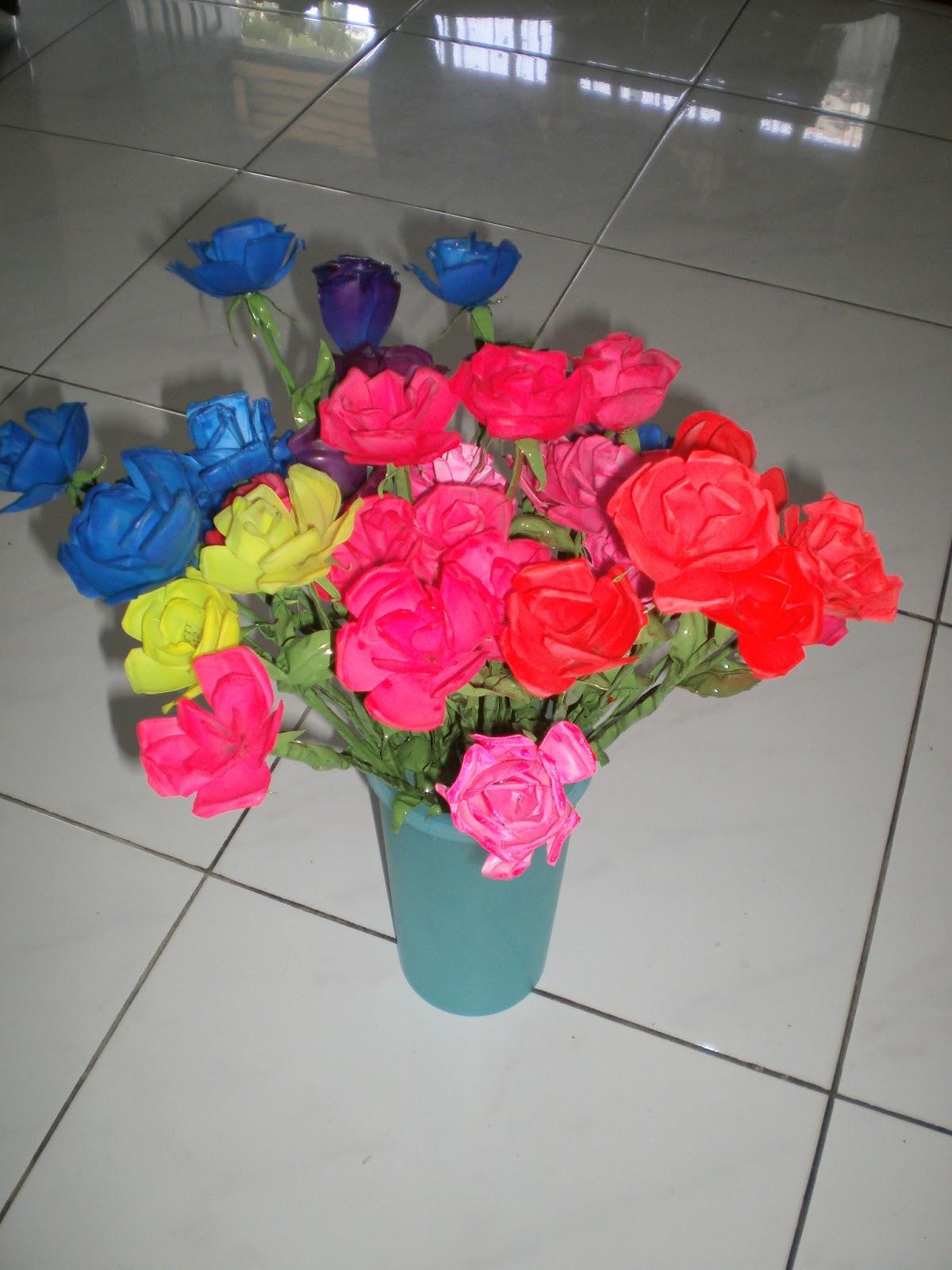 23 Bunga Dari Plastik