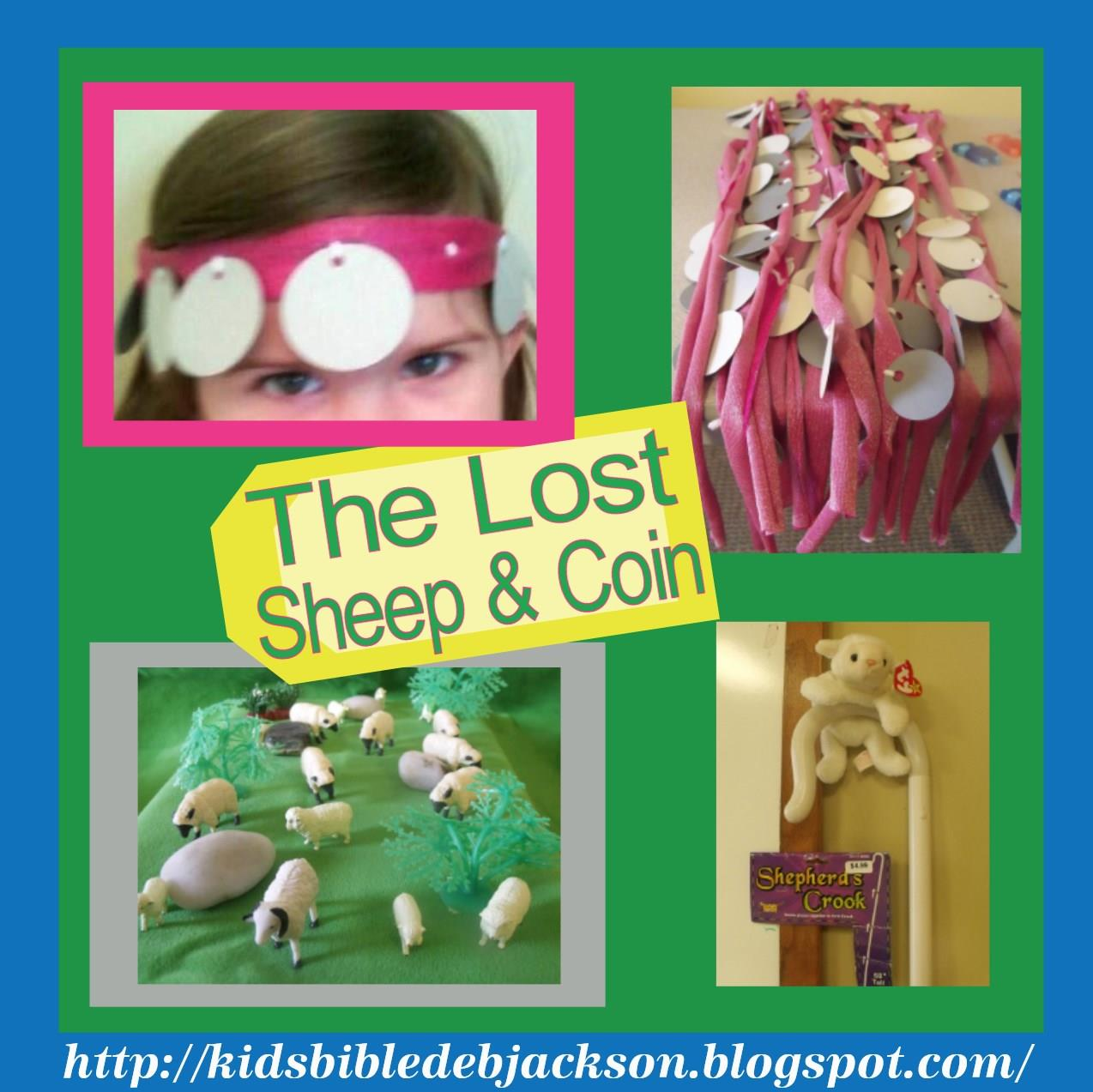 Bible fun for kids parable of the lost sheep the lost coin