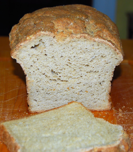 Best gluten-free sandwich bread. A vegan recipe