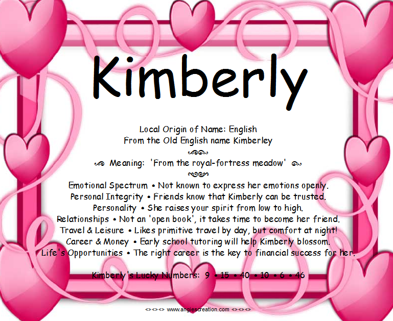 Search Results Name Kimberly Meaning The Best Hair Style