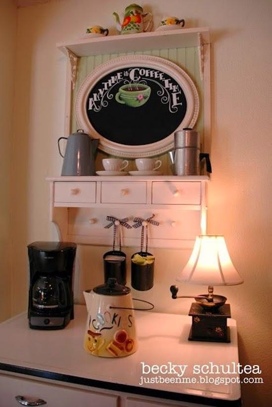 canto do café decoração