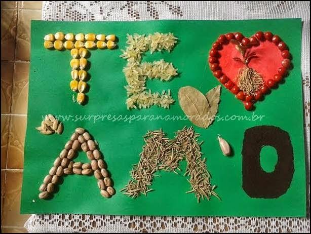te amo sementes