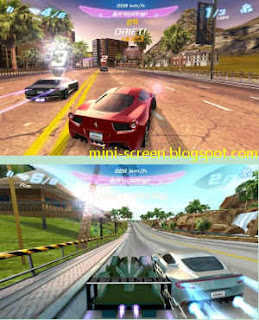 Asphalt 6: Adrenaline HD Game: Android's Interface