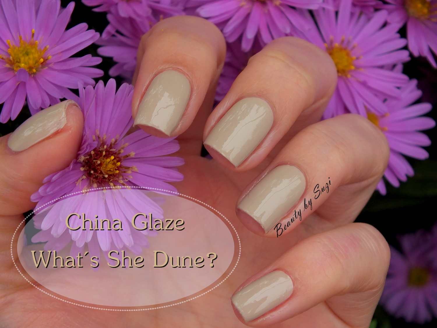 China Glaze, What´s She Dune? (LE Desert Escape Summer 2015)