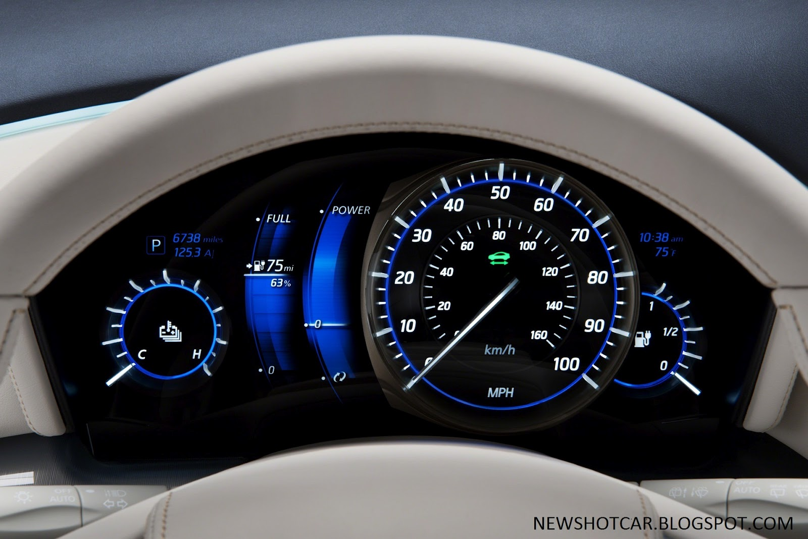 2012 infiniti le concept zero emission luxury sedan news hot car 2012 le concept console vanachro Image collections
