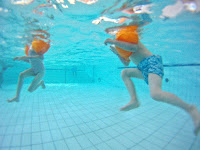 nager pour être en forme