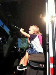 Driving Uncle Daniel's Truck!