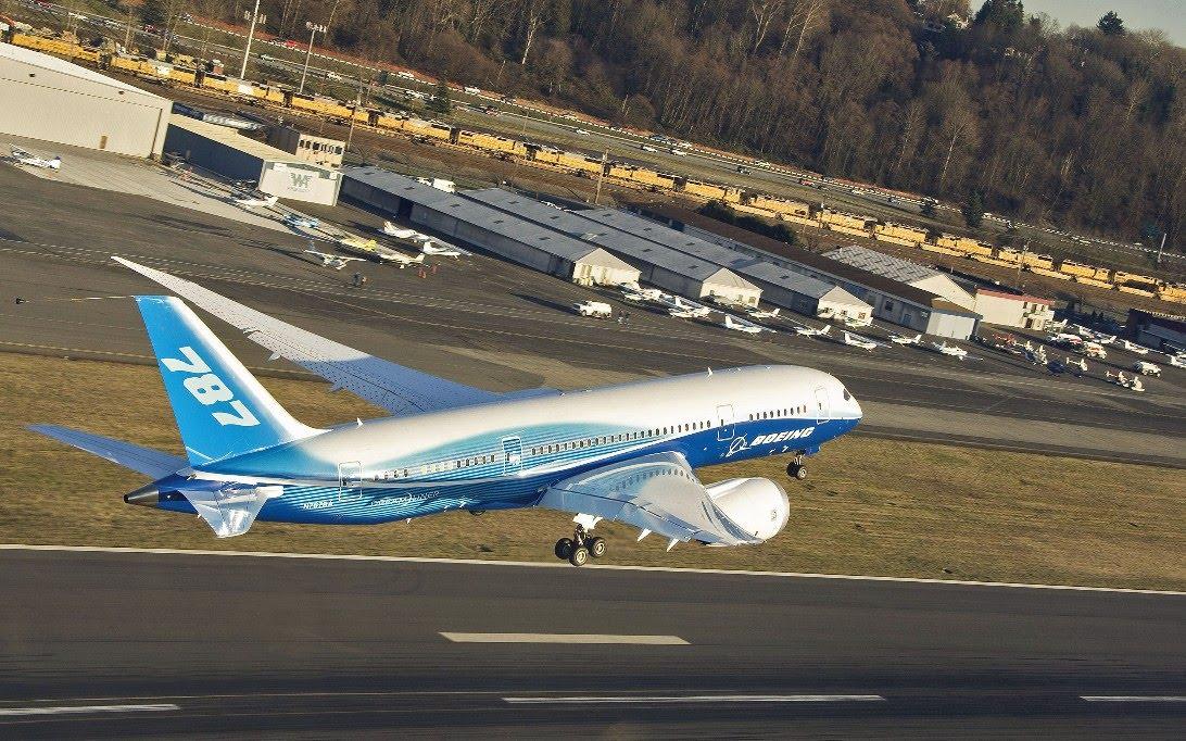 Boeing 787 Dreamliner Aircraft Wallpaper 3