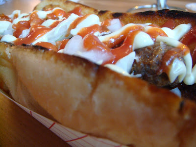 Frikandel at Saus, Boston, Mass.
