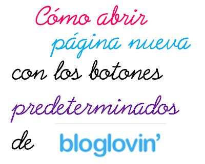 Abrir página nueva en bloglovin
