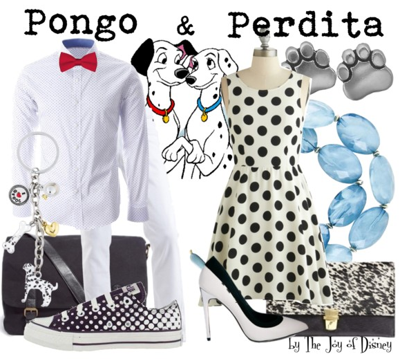 Pongo and Perdita Outfits, 101 Dalmatians