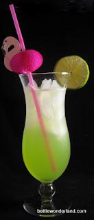 Crocodile Cooler Cocktail