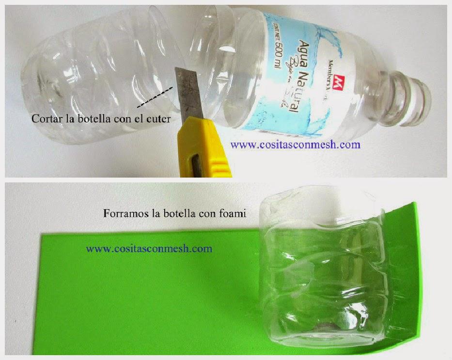 Manualidades Dulcero Cocodrilo Reciclaje Cositasconmesh