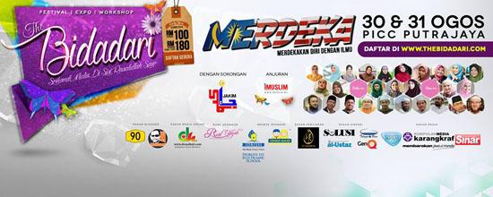 Konvensyen The Bidadari 2014 PICC Putrajaya 30-31 Ogos 2014