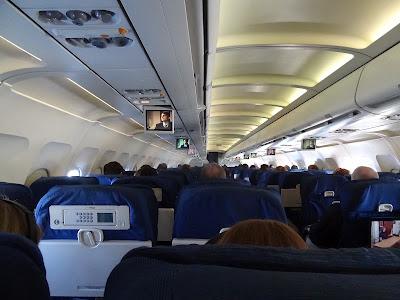 United plane interior