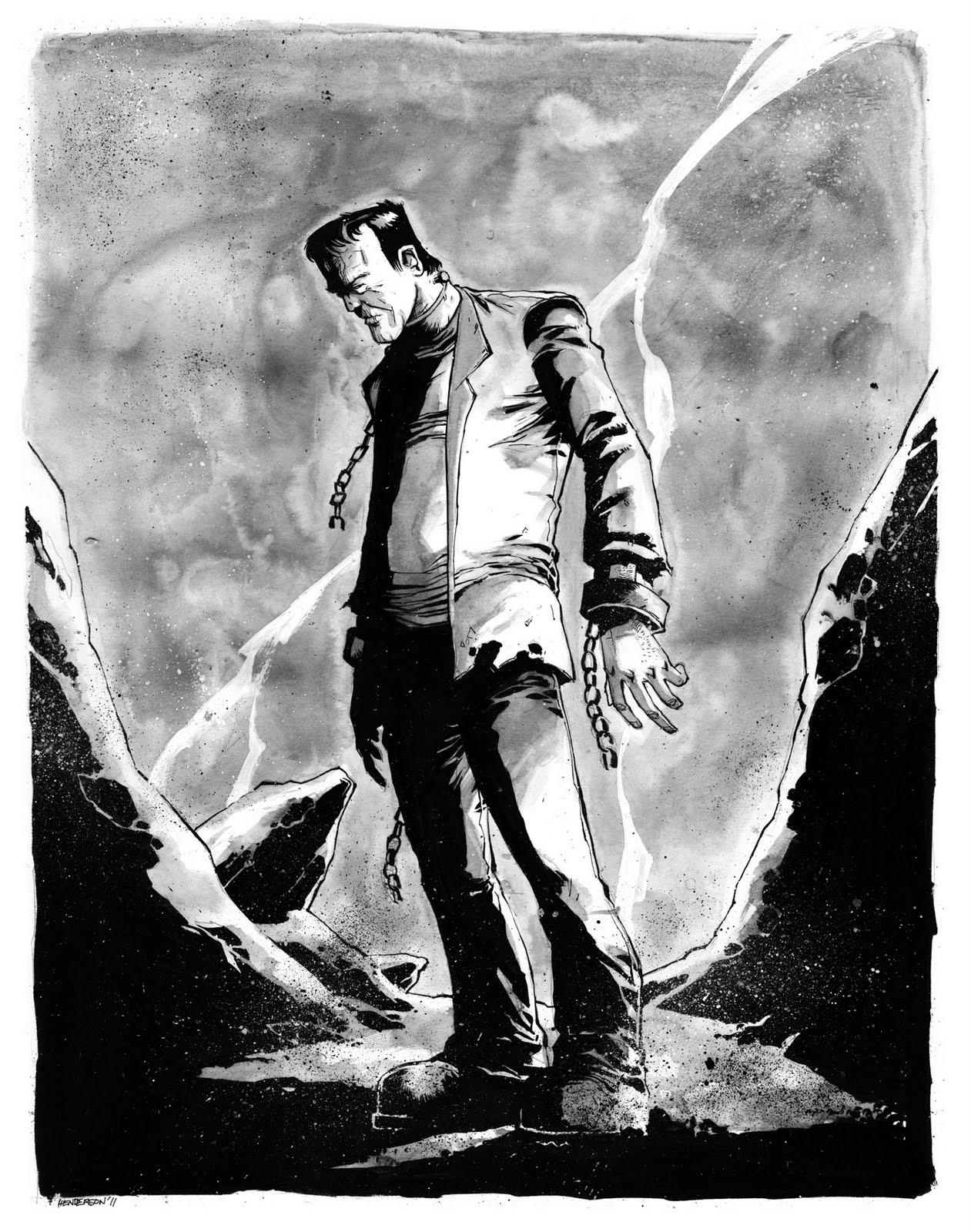 Frankenstein essays on science