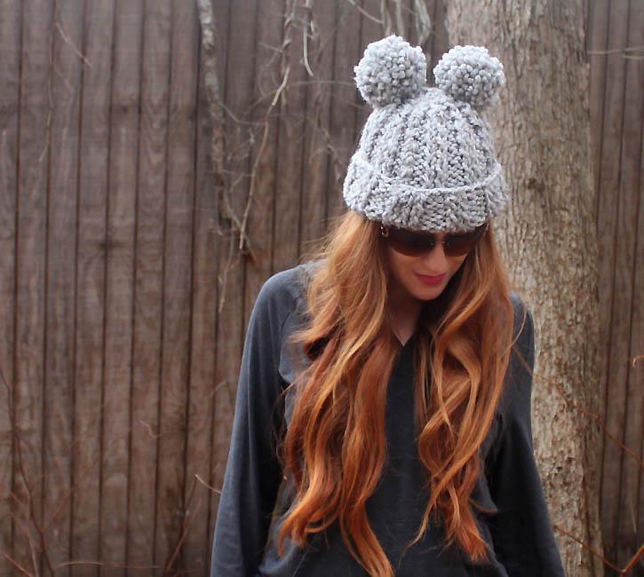 Pom Pom Knitting Patterns : Eugenia Kim Mimi Pom Pom Hat [knitting pattern] Gina Michele Bloglovin