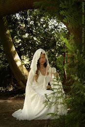 Robe de mariée médiévale Dame Blanche