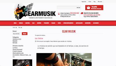 Blog de música gearmusik.com  en directoriopax.com www.directoriopax.com