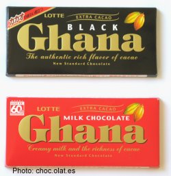 Korean Lotte Black Ghana