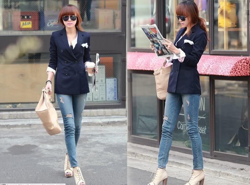 Denia Melinda Trend Baju Korea 2013