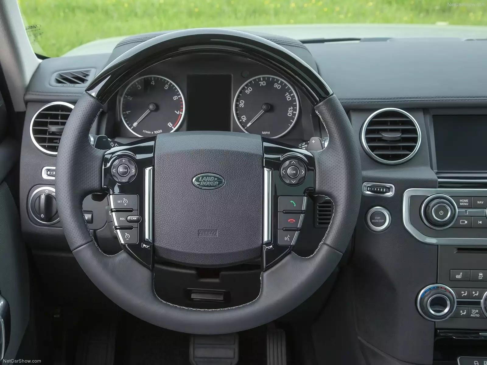 Hình ảnh xe ô tô Land Rover Discovery 2015 & nội ngoại thất