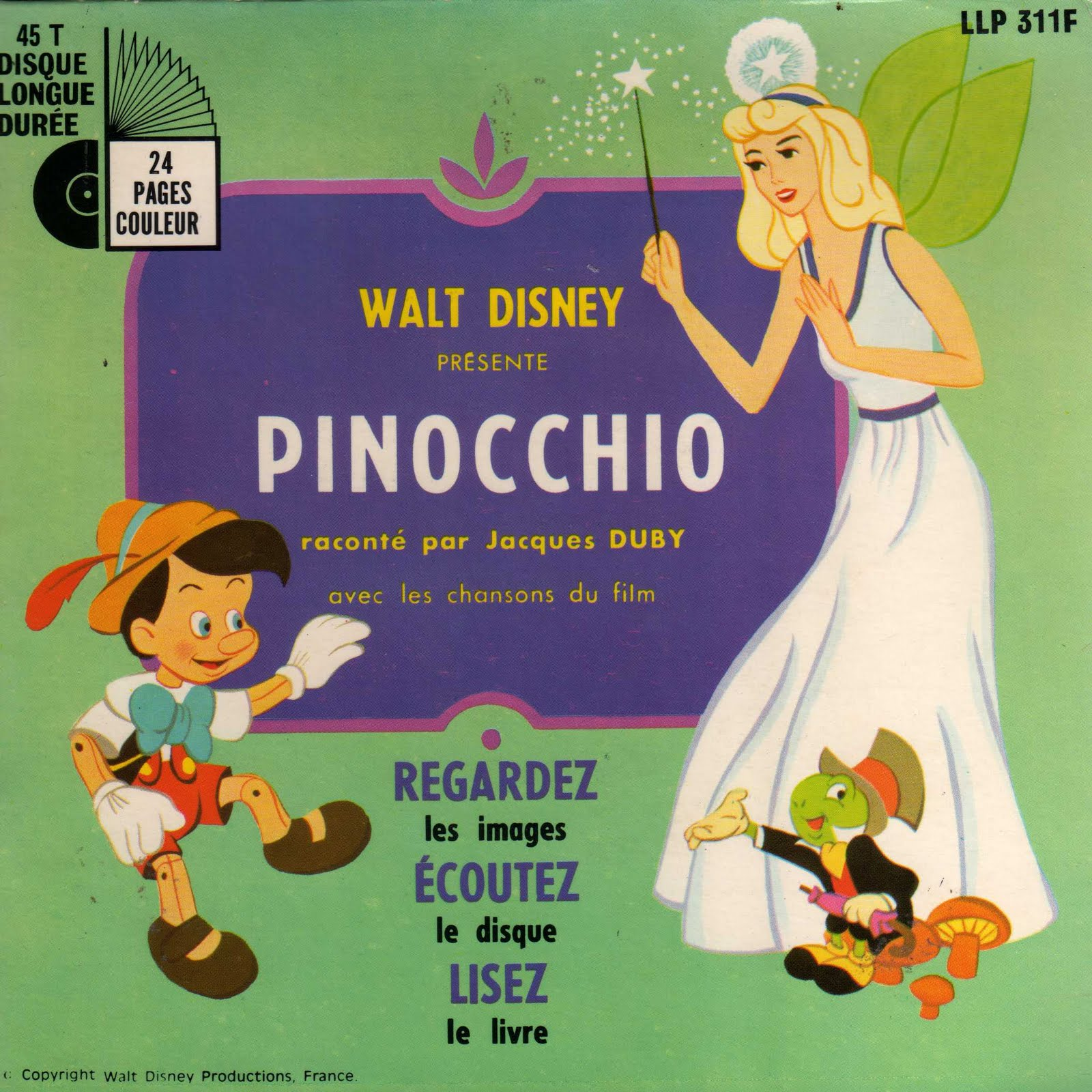 En-broc: LLP 311F : Pinocchio