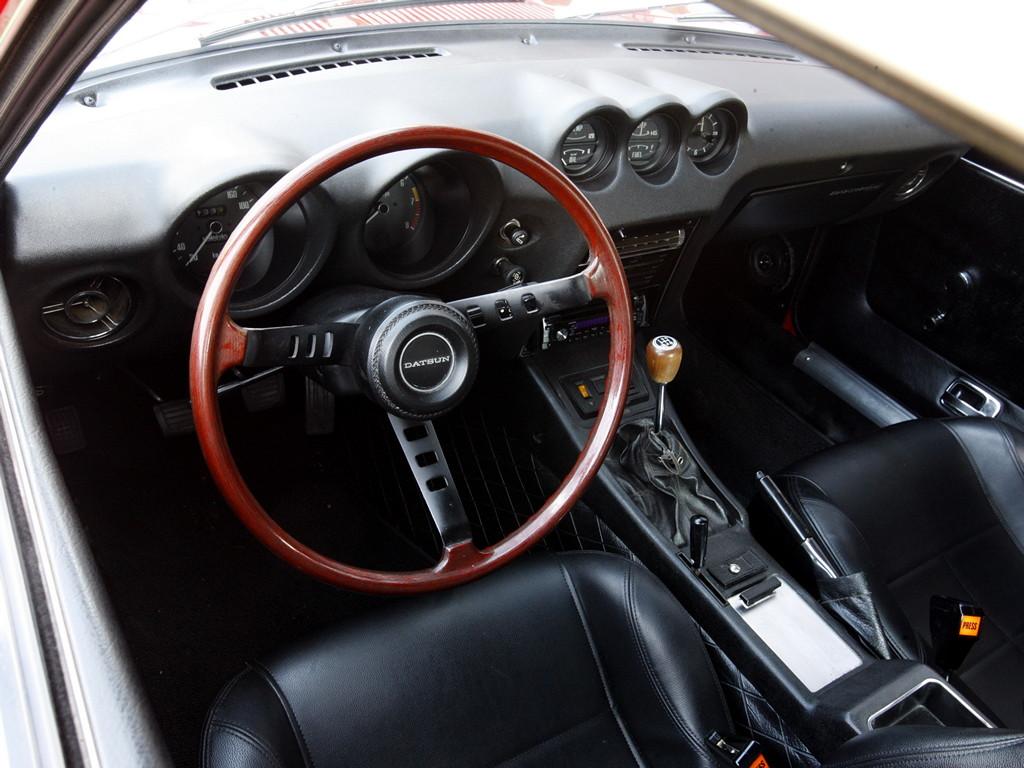 Nissan Fairlady Z S30, Datsun, 240Z, 260Z, 280Z, stary japoński sportowy samochód, kultowy, klasyk, oldschool, piękny design, zdjęcia, 日本車, スポーツカー, クラシックカー, 日産, wnętrze, interior