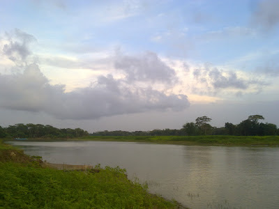 A small river of Bangladesh