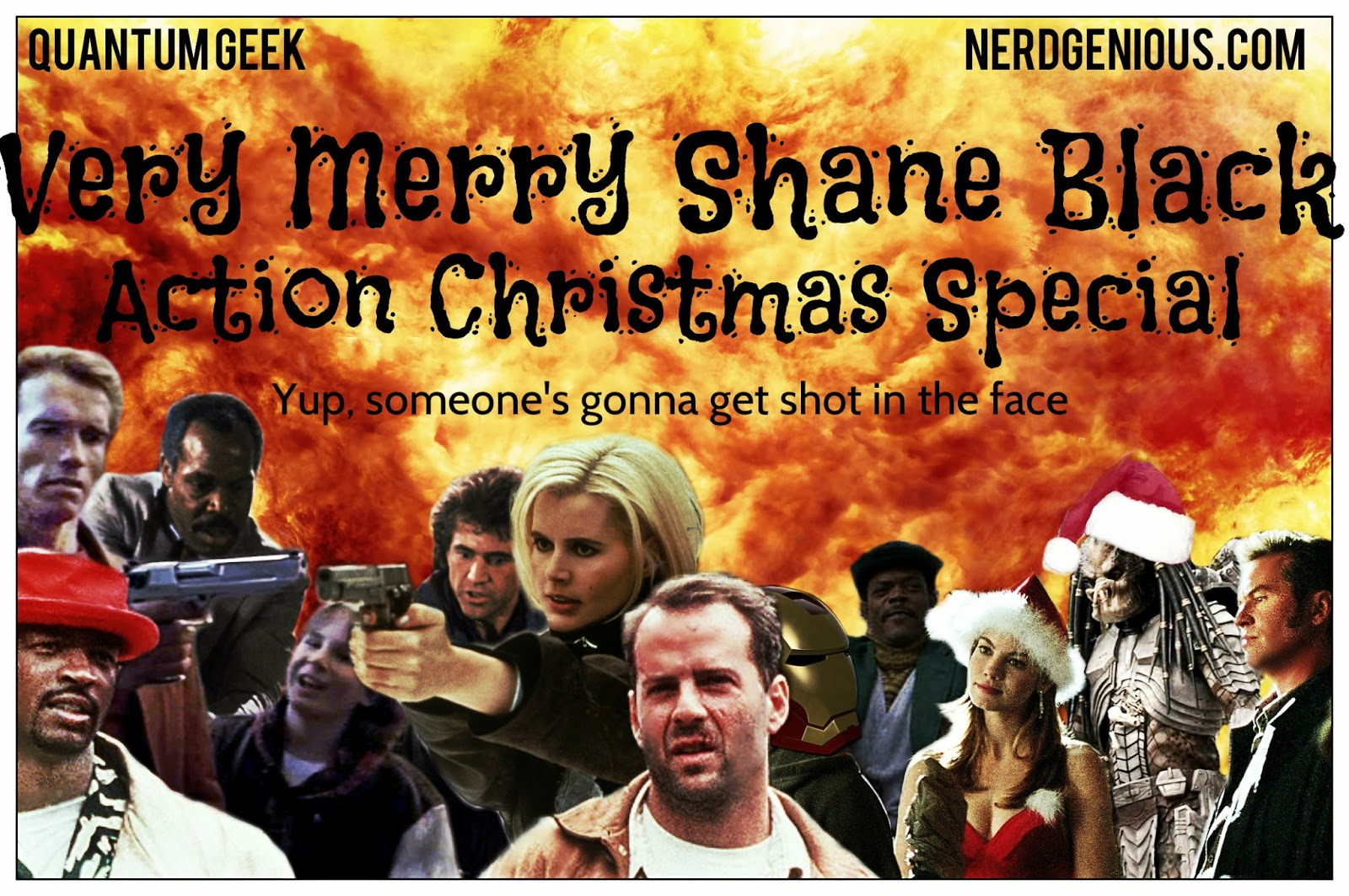 Podcast series celebrating the movies of actor, writer and director Shane Black