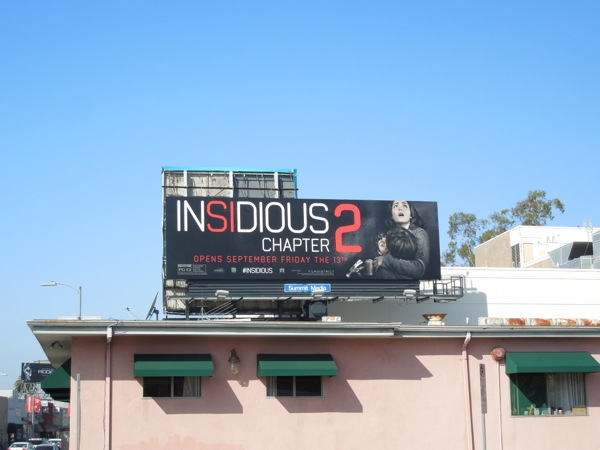 Insidious Chapter 2 billboard