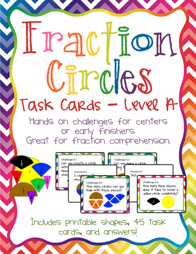 photograph about Fraction Circles Printable identified as The Puzzle Den: Portion Circles Place A