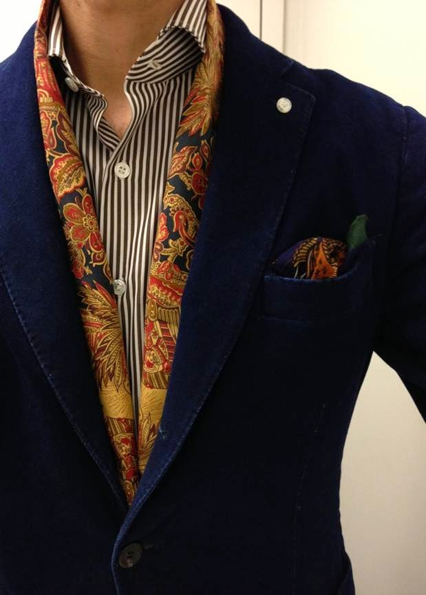 Silk Scarf and Pocket Square