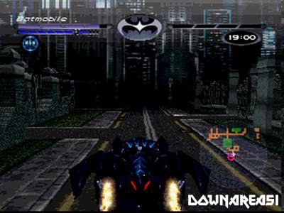 Batman and Robin PSX Game